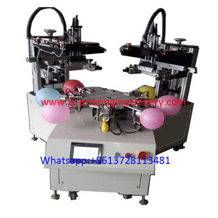 2 color balloon screen printer